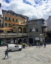 Cortona's main piazza, Piazza della Republica