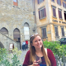 Everyone sits in the piazza with wine and talks to everyone at about 6pm every day.